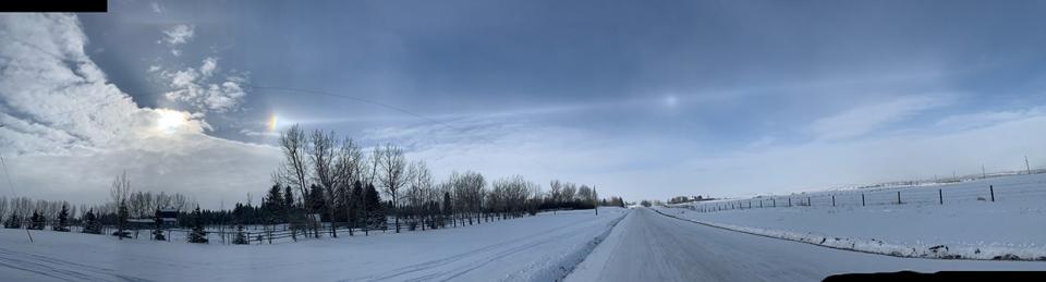 southern Alberta, Flory, sky