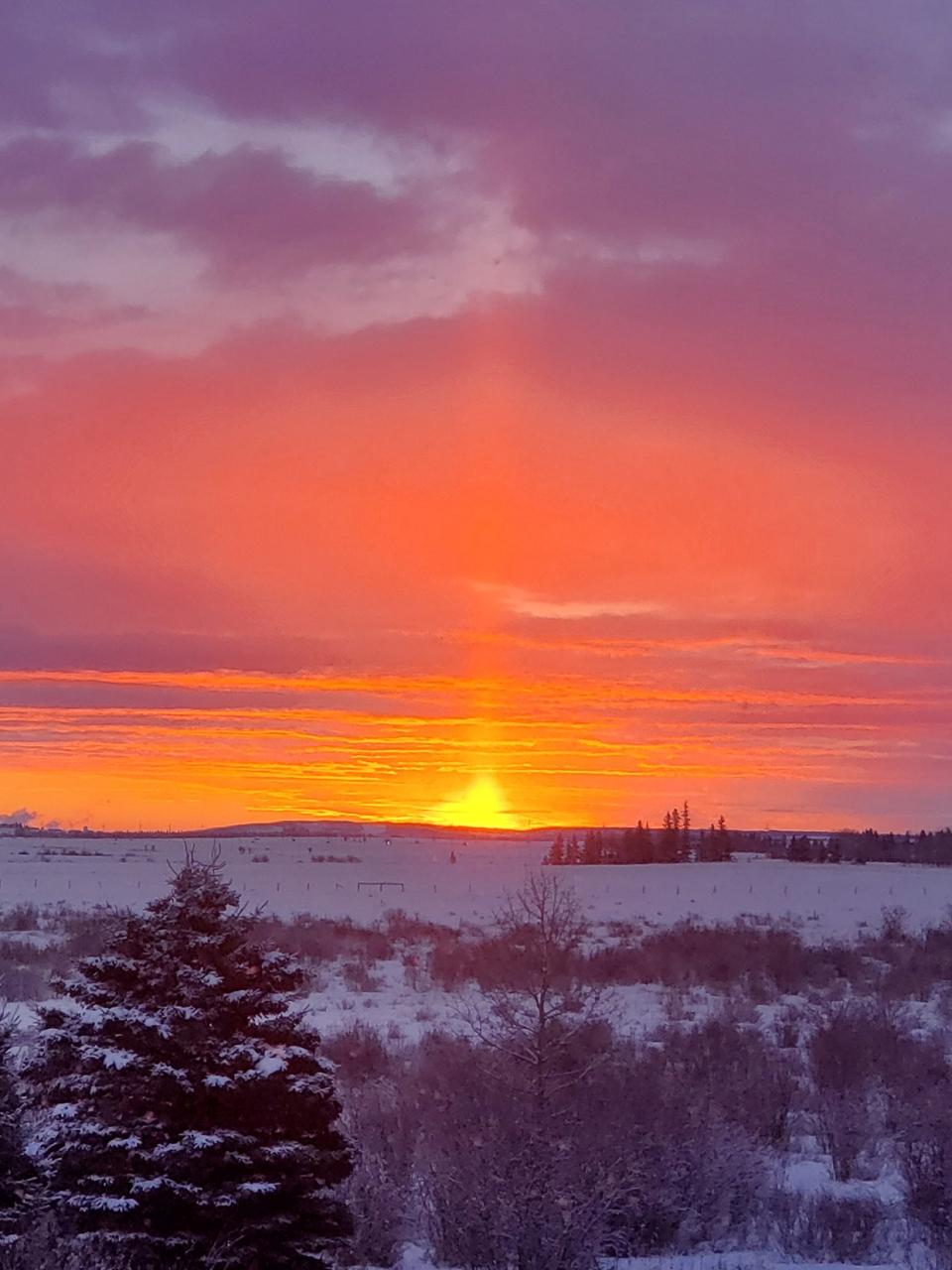 Southern Alberta, sunset, Debra