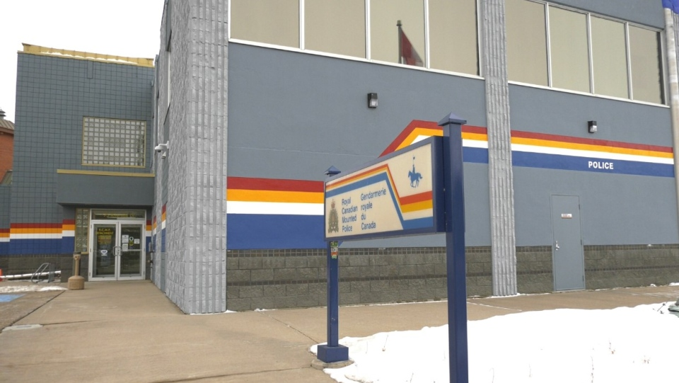 The Drumheller RCMP detachment.