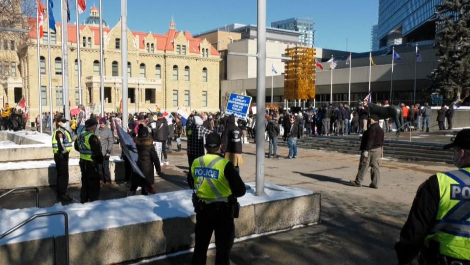 calgary, protest, calgary police, rally, demonstra