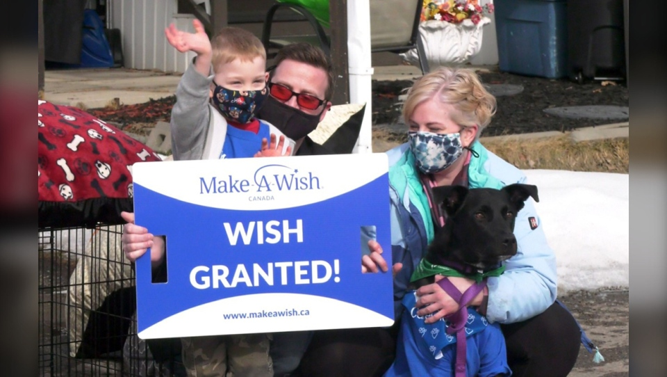 Make,A,Wish,puppy,parade