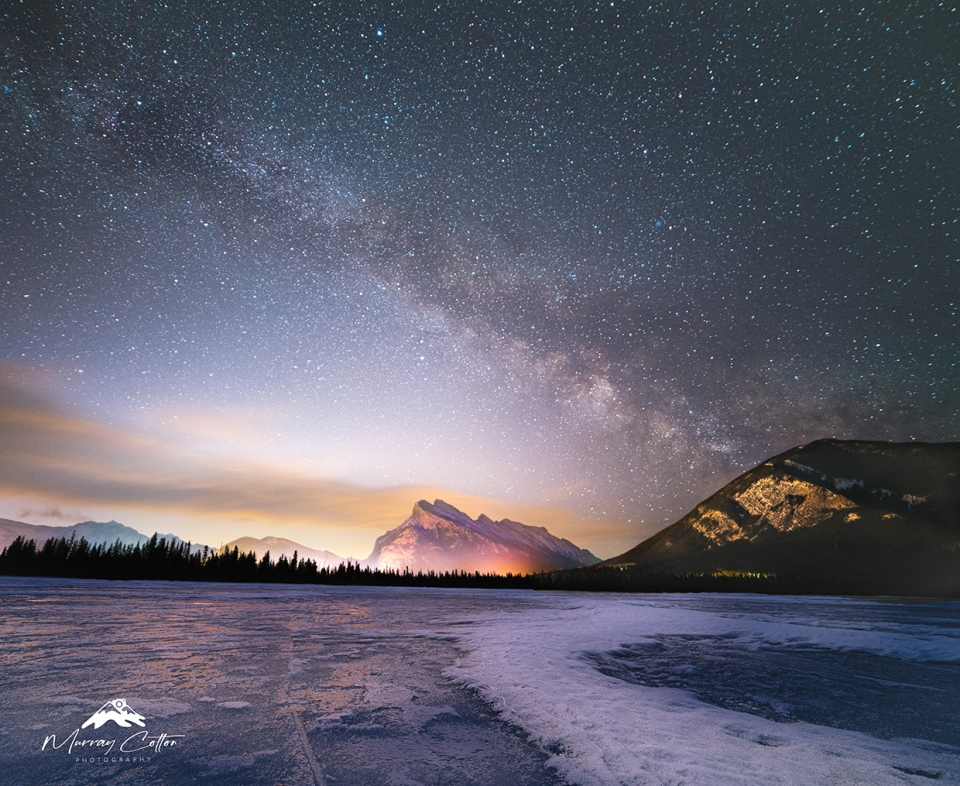 Rockies, mountains, Murray Cotton, Mount Rundle
