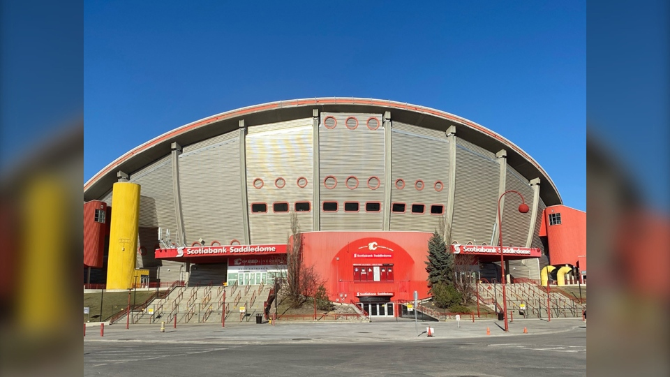 Saddledome, Calgary