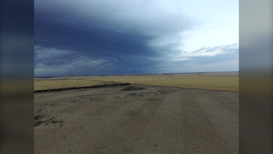 Alberta sky clouds