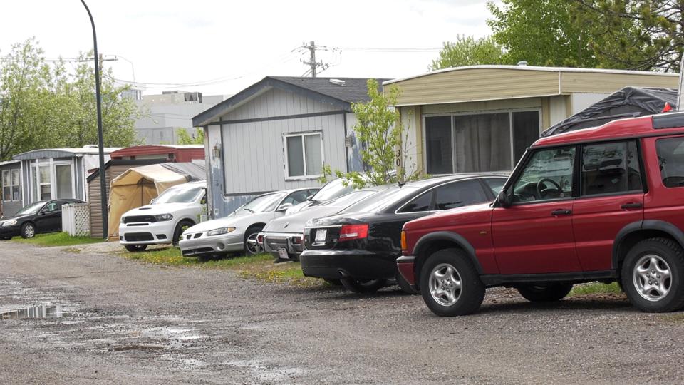 caravan, mobile, home, park, calgary