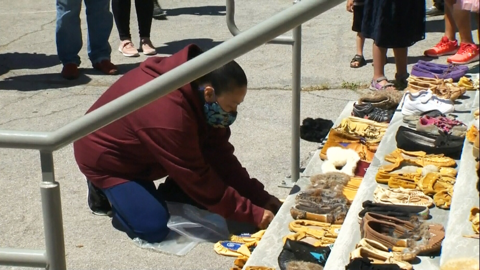 Honouring residential school victims