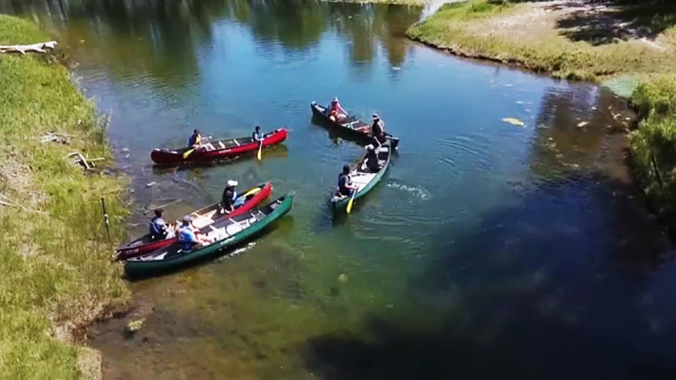 canoes, newcomers, canadian