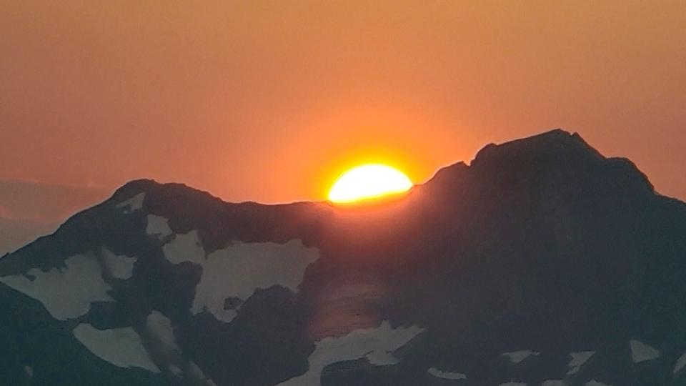 Calgary weather submission sunrise
