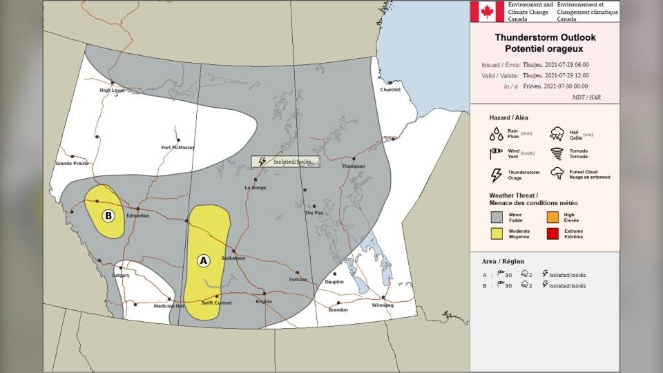 Calgary weather CASPC