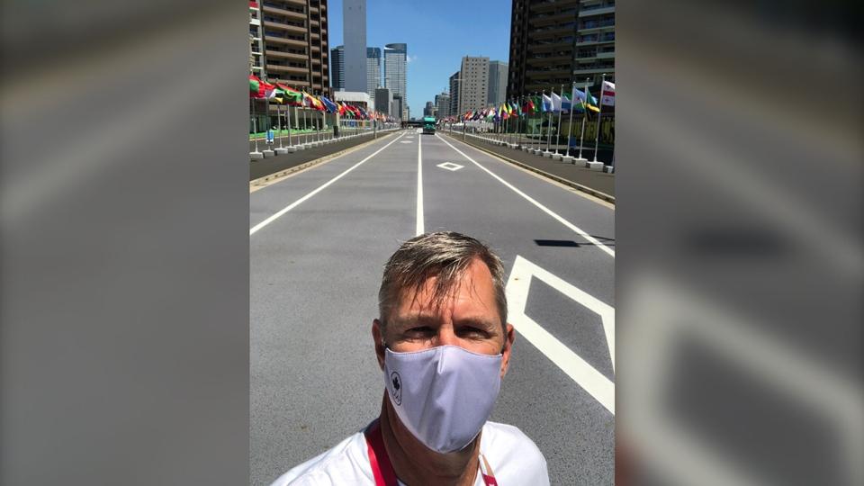 Tokyo, street, Olympics, Canada