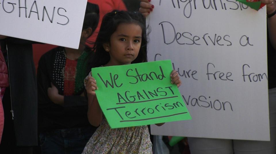 Afghanistan, Lethbridge, Alberta, rally