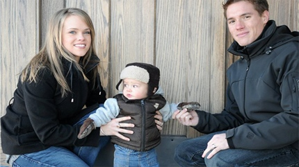 Darren Wourms, 26, his wife Hayley, 23, and their 2-year-old son Cayden from Airdrie were found deceased in a Saskatchewan ditch.