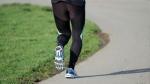 Jogging on the Sidewalk
