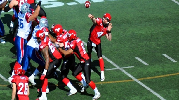 Stampeder QB Drew Tate out for the season