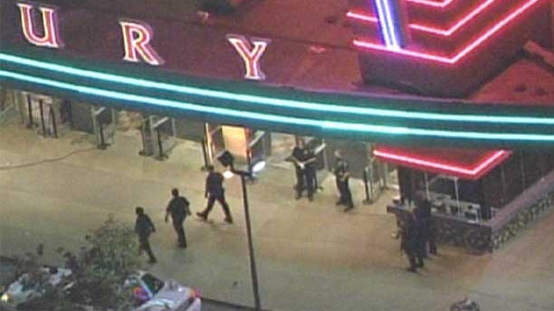 A mass shooting at a Colorado movie theatre during a screening of the 'The Dark Knight Rises,' has left 12 people dead and 59 injured.