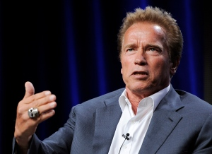 Arnold Schwarzenegger appeals to end to the slaughter of elephants in new video. (Chris Pizzello / Invision /AP)