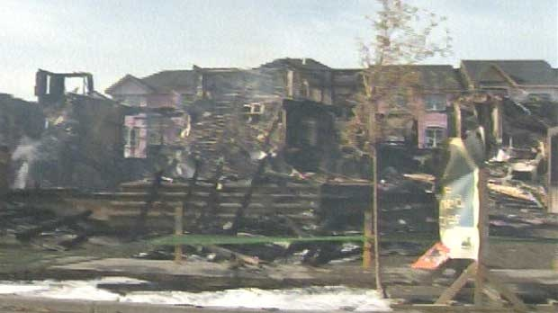 Police are investigating a fire in McKenzie Towne that consumed one condo complex and severely damaged two others.
