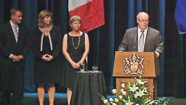 Stephen Lougheed and his siblings pay tribute to their dad.
