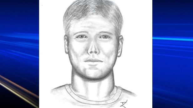 Police have released a composite drawing in an attempted sexual assault.