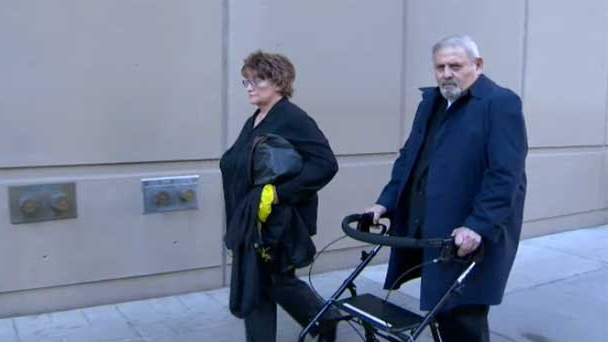 Dr. Aubrey Levin leaves court on Thursday, Sept 27, 2012.