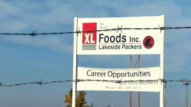 XL Foods Lakeside plant in Brooks, Alta.