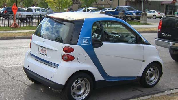 The CAR2GO vehicles are an alternative to owning a car.